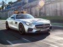 Mercedes-AMG GT oficiálním safety carem pro Formuli 1 ročníku 2015