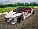 Acura NSX vyšplhá letos na Pikes Peak. Jako pace car!