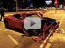 Video: První vážná nehoda Ferrari 458 Speciale