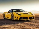 Ferrari 458 Italia jako lehce zběsilý žlutý koník