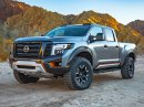 Nissan Titan Warrior Concept je velký a zlý pick-up (+video)