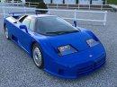 Modrá Bugatti EB110 na prodej za 33 milionů korun