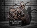 Potetovaná motorka z Polska