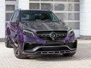 Mercedes-AMG GLE 63 S Inferno Violet je fialové peklo z Ruska