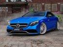 Mercedes-AMG S 63 Coupé jako modrý krasavec se stádem 740 koní