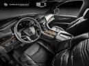 Carlex Design se postaral o stylový interiér pro Cadillac Escalade