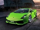 Lamborghini Gallardo může vypadat i jako rozzuřená rosnička