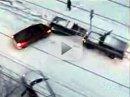 Sníh a auto-kulečník