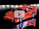 Ferrari F40 z Lega je perfektní dárek k Vánocům (video)