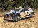 Mikkelsen měl při Australské rallye zvláštní nehodu. Překvapil ho traktor
