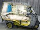 Piaggio Bufalino Ape 50 – minikaravan pro jednoho
