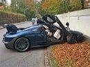 Tohle je zřejmě první nehoda McLarenu Senna. Majitel boural krátce po převzetí vozu
