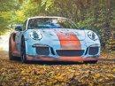 Porsche 911 GT3 RS se převléklo do barev Gulfu a zrezlo. Ale jenom naoko!