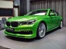 Alpina B7: Sluší decentnímu sedanu jedovatě zelená, nebo je to už příliš?