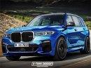 Takhle by mohlo vypadat BMW X7 M. Jak se vám návrh líbí?