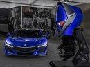 Honda NSX inspirací pro lodní motor
