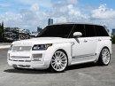 Range Rover od MC Customs: Bílá brutalita