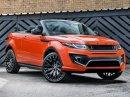 Range Rover Evoque Convertible jako oranžový elegán