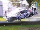 Porsche 911 RSR vs betonová svodidla 0:1