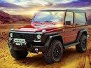 Mercedes-Benz G Carbon Motors: Bulha�i vyhl�sili v�lku plast�m
