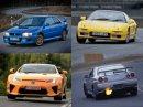 Pět nejlepších aut z Japonska. Souhlasíte s tímhle výběrem?