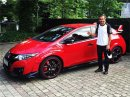 Fernando Alonso dostal Hondu Civic Type R, čeká na NSX