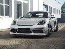 TechArt ladí čtyřválcová Porsche 718 Boxster a Cayman S na 400 koní