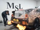 Nissan GT-R: Zapálí lišky cigaretu?