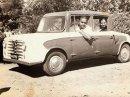 Tohle auto tady bylo ještě před Tatou Nano. Meera měla motorizovat Indii