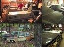 Uprostřed amerických lesů se našla úžasná sbírka aut. Zahrnuje více než 100 aut