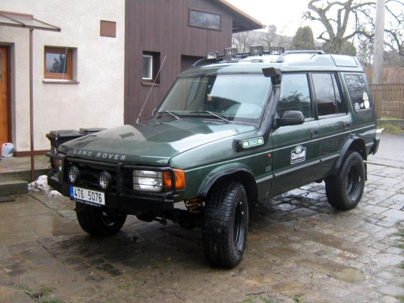 Foto Land Rover Discovery >> Fotogalerie Land Rover Discovery - zimni gumy - MOJE.AUTO.CZ