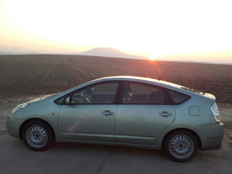 fotogalerie toyota prius vchod slunce nad pem 2012