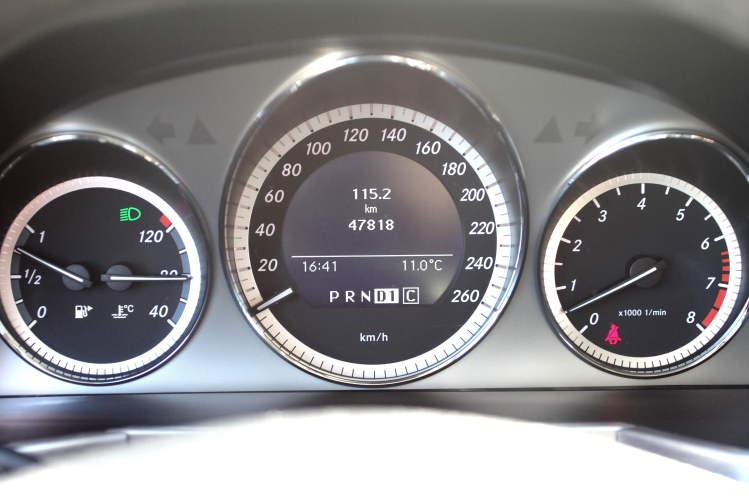 Fotogalerie Mercedes-Benz GLK - Funkce poloautomat - MOJE.AUTO.CZ Mercedes Glk