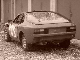 Porsche 924: titulní fotka