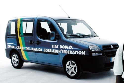 Fiat Dobló pro jamajské bobisty