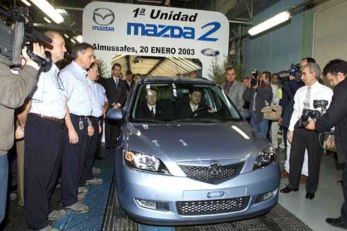 Mazda zahájila výrobu v Evropě