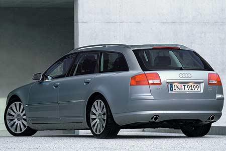 Audi A8 Avant: První kombi v luxusní třídě