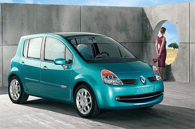 Renault Modus² a Operandi: Městský mobiliář