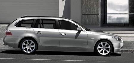 BMW 5 Touring: podrobné informace