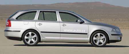 Jak bude vypadat Škoda Octavia Combi?