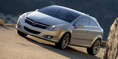 Opel Astra se v roce 2006 představí i jako kupé-kabriolet