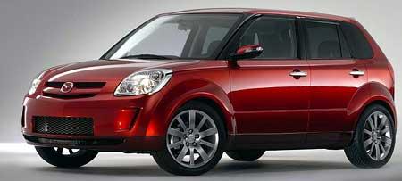Nové mini MPV Mazda se jmenuje Verisa