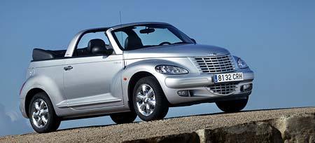 Chrysler Voyager 2005 a PT Cruiser Cabrio na českém trhu