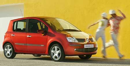 Renault Modus: premiéra mikroScénicu