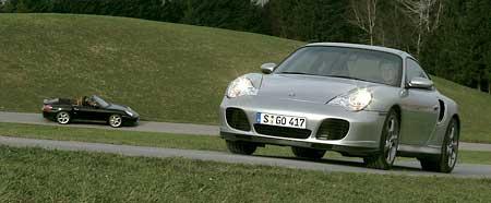 Porsche 911 Turbo S: Osedlaný Pershing