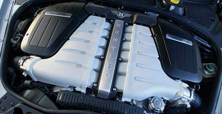 Motory V12 (7.díl): Bentley W12 turbo