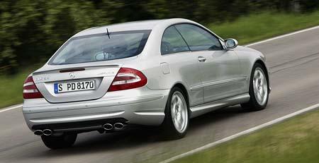 Mercedes-Benz CLK: technický facelift po dvou letech