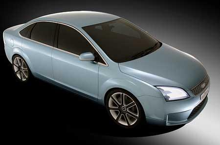 Ford Focus Concept: Druhá generace hledí na Východ