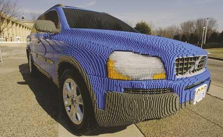 Kuriozity: Volvo z cihel