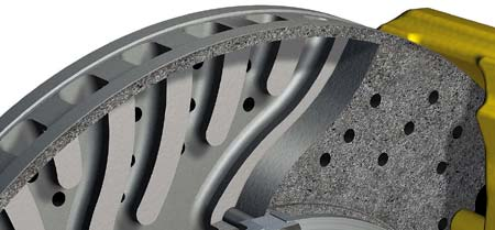 Porsche Ceramic Composite Brake: Keramika z jihu Německa